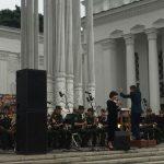Выступление с оркестром военных дирижеров военного университета под руководством Заслуженного артиста России, полковника, Михаила Трунова